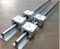 Wholesale 2 sets SBR20 mm mm fully supportd linear rail shaft SBR20UU linear motion bearing