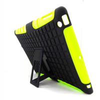 Wholesale 2014 newest Case Robot in Stand Case Impact Rugged Heavy Duty TPU PC Hybrid Shock Proof Cover Cases For ipad For ipad mini For