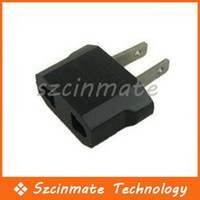 Wholesale EU AU to US AC POWER PLUG ADAPTER TRAVEL CONVERTER