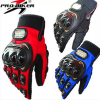 Wholesale NEW Bicycle Motocycle Sports FULL Finger Gloves size M XXL