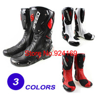 Wholesale ProBiker SPEED Racing Boots Motocross Boots Motorbike boots