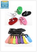 Wholesale electronic cigarette battery PU Leather pouch ego t portable carrying bag necklace lanyard for ego t evod e cigarette and colorful choices