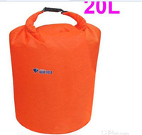 Wholesale 8PCS L S Size Waterproof Dry Bag for Canoe Kayak Rafting Camping