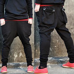 Shop Men's Pants Online, New Fashion Men Harem Baggy Sweat Pants ...