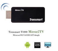 Wholesale Tronsmart T1000 Miracast Dongle HDMI DLNA Wireless Air Display Ezcast Mirror2 TV for Android iOS Windows Mac OS