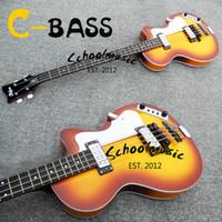 Wholesale Hofner electric bass bb violin bass tyranids gourd electric bass electric bass