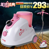 Wholesale Shanghai red hearts garment steamer rh2015 household hanging iron wrinkle