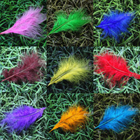 Chicken Yes Turkey Feather Free shipping 1000pcs 8-15cm mix colored natural real turkey feathers plumes jewelery accessories hair carft making for sale