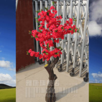 Cheap Cherry tree fake tree artificial tree French bonsai tree