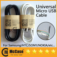 Universal   High Quality 1M Micro USB Data Charging Cable For Samsung Galaxy i9500 i9300 S4 S3 S2 N7100 Note 2 3 Blackberry Z10 HTC Nokia Sony Charger