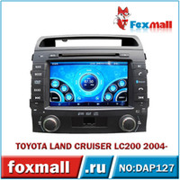 Wholesale Android Car DVD player TOYOTA LAND CRUISER LC WiFi Hotspot TV3G GPS Radio