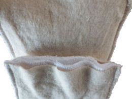 Wholesale Hemp Organic cotton Layers Washable Baby Cloth Diaper Nappy inserts Hot Sales