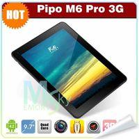 PIPO 9.7 inch Quad Core 9.7 inch PIPO M6 PRO RK3188 Quad core tablet pc 1.6GHz IPS Retina Android 4.2 RAM 2GB ROM 32GB 2048x1536 Dual Camera Flashlight 002060