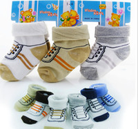 Wholesale 3 off Drop ship W newborn footwear hosiery for baby children warm baby socks baby shoes toddler shoes pairs J
