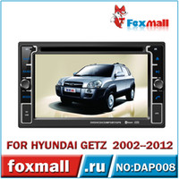Monitor TV Roof Android Car DVD Player Hyundai GETZ 2002 2003 2004 2005 2006 2007 2008 2009 2010 2011 2012 6.2'' resistant multi touch screen