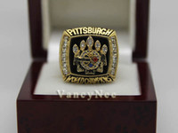 With Side Stones Bezel setting Brass Fans 2005 Super Bowl Team Pittsburgh Steeler Copper National Football League Cubic Zircon Championship CZ Ring Size 10 11 12 A+