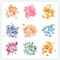 Wholesale Classy Shell Loose Beads With Hole Fit For DIY Charms Necklace Chain Jewelry Craft Making Items Available ARI