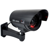 rl - Hot Sale Home Surveillance Security Dummy IR Simulation Camera Waterproof LED Flashing CCTV RL A Colors F2102