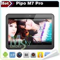 Wholesale Cheapest inch PIPO M7 pro M7Pro G sim card wifi GPS Quad core RK3188 Android bluetooth HDMI dual camera tablet PC