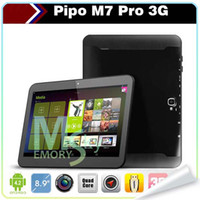 Wholesale Newest PIPO M7 pro M7Pro inch Android Multi touch IPS Screen Quad Core GHz GB RAM GB ROM MP Dual Camera Tablet PC