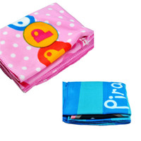 Wholesale New Arrival Baby Soft Polar Fleece Fabric Blanket Swaddling Babies Peppa Pig Cartoon Designer Swaddle Wrap