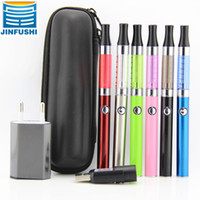 Electronic Cigarette Set Series Clear Slim eluv electronic cigarette kits with e cigarette e cig ego mini ce4 atomizer clearomizer and 310mah eluv Mini Ecab battery zipper cases