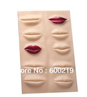 Wholesale 5pcs D Lip Practice Skin For High Quality Permanent Makeup Tattoo And Lips Training Skin D Practice Rubber Fake Lip Skin