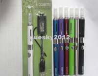 Electronic Cigarette assorted electronics - EGO EVOD Starter Kit Blister Card USB Rechargable EVOD Battery mAh mAh mAh MT3 Clearomizer electronic cigarette Assorted Color