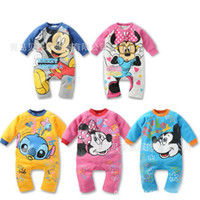 Wholesale children s clothing baby romper newborn body suit romper soft cotton Baby girls boys Kids Rompers A252