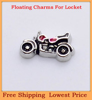 Wholesale hot selling cool Motorcycle origami owl floating charms for living glass memory glass lockets FC152