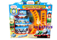 Wholesale 2014 New Assembly Thomas Toy Story Electric Train Track Rail Car Racing Toys Children s Gifts