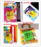 Wholesale RSIM Mini R SIM Mini RSIM R SIM PRO C S Air GPP Unlock Card for iPhone S C S IOS X IOS x