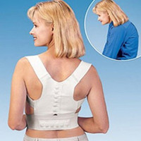 Back   Magnetic Posture Support Corrector Back Pain Feel Young Belt Brace Shoulder free shipping 50ps lot
