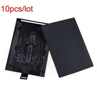 Wholesale 10pcs New Hard Disk Enclosure Drive HDD Case Shell Cover for Microsoft Xbox Slim Black