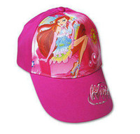 Cheap Ball Cap WinxClub Snapback hats Best Pink Woman WinxClub Snapback