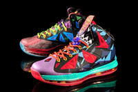 Wholesale LBJ MVP X Basketball Shoes Original Quality Hot Sell James PS Elite Athlenic Shoes Abrasion Resistant Sports Shoes Men Size