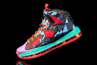 Wholesale 2015 LB MVP LBJ Basketball Shoes LB10 LB X James PS Elite Athlenic LB Shoes Sports Shoes Men Size