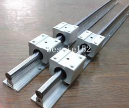 Wholesale 2x SBR12 mm mm FULLY SUPPORTED LINEAR RAIL SHAFT SBR12UU Linear bearings