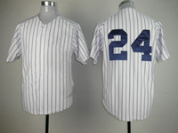 Wholesale Yankees Baseball Jerseys White Pinstripe Home Jersey Breathable Soft Athletic Outdoor Apparel Hot Brand MLB Fan Apparel Uniforms Kits