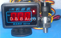 Wholesale High Quality Automobile Gauges Tuning Digital Oil Pressure Gauges Oil Pressure Meters For Sale
