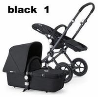 Wholesale Bugaboo Cameleon Stroller Xplory Basic Baby Stroller Luxury Portable Pram Stroller Adjustable colors Cheap Black Red TT14111573173