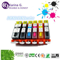 Wholesale full ink China supplier with refill ink cartridge PGI820BK CLI821BK C M Y GY for Canon iP etc hot sell for Asia market