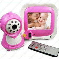 Wholesale A2 Wireless quot TFT LCD Baby Monitor Cam Night Vision Remote Control Video Audio