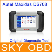 Wholesale 2014 Original Autel MaxiDAS DS auto scanner Autel MaxiDas DS708 UPDATE internet