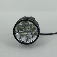 Wholesale 3 Modes X Cree Bike Lights Lumens CREE XML T6 LED Bike Light Bicycle Front Lamp mAH Battery Waterproof Flashlight V Battery