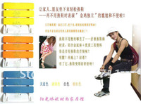 Wholesale Wall Mount Stool Shower Chair Fold Down Bench Bath Stool Blue White Orange Yellow with all mounting hardwards