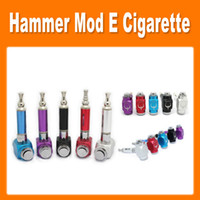 Electronic Cigarette Set Series  Colourful GS Hammer Mod Kit UAKE E-cigarette Hammer Pipe Ecig with 18350 Battery Electronic Cigarette Kit good quality(0212026)