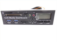 Wholesale 10 CH U3L USB quot inch Multi function Media Dashboard Card Reader for PC