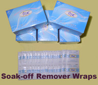 Wholesale Freeshipping Nail Gel Lacquer Polish Foil Remover Wipes with Acetone boxes
