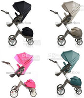 Wholesale 2014 Baby Stroller Xplory Basic Luxury Portable Pram Stroller Adjustable stokke Buggy Aluminum wheels
